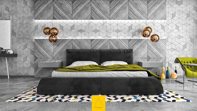 yatak odası yatak arkası duvar dekorasyon fikirleri - yatak odasi duvar dekorasyonlari 26 - Yatak Odası Yatak Arkası Duvar Dekorasyon Fikirleri