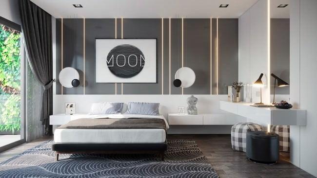 yatak odası yatak arkası duvar dekorasyon fikirleri - yatak odasi duvar dekorasyonlari 3 - Yatak Odası Yatak Arkası Duvar Dekorasyon Fikirleri