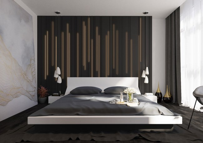 yatak odası yatak arkası duvar dekorasyon fikirleri - yatak odasi duvar dekorasyonlari 4 - Yatak Odası Yatak Arkası Duvar Dekorasyon Fikirleri