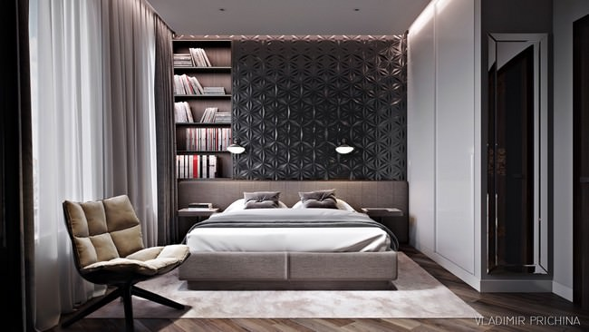 yatak odası yatak arkası duvar dekorasyon fikirleri - yatak odasi duvar dekorasyonlari 5 - Yatak Odası Yatak Arkası Duvar Dekorasyon Fikirleri