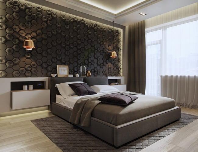 yatak odası yatak arkası duvar dekorasyon fikirleri - yatak odasi duvar dekorasyonlari 7 - Yatak Odası Yatak Arkası Duvar Dekorasyon Fikirleri