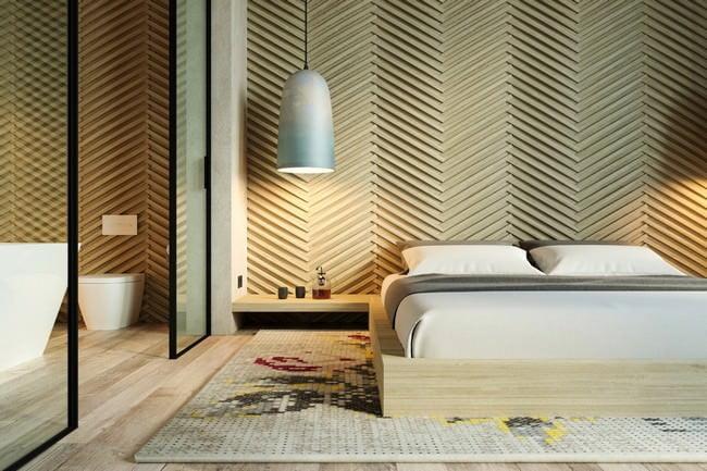 yatak odası yatak arkası duvar dekorasyon fikirleri - yatak odasi duvar dekorasyonlari 8 - Yatak Odası Yatak Arkası Duvar Dekorasyon Fikirleri