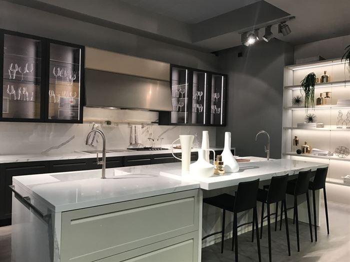 dolap camlı kapaklı cam kapaklı mutfak dolap modelleri