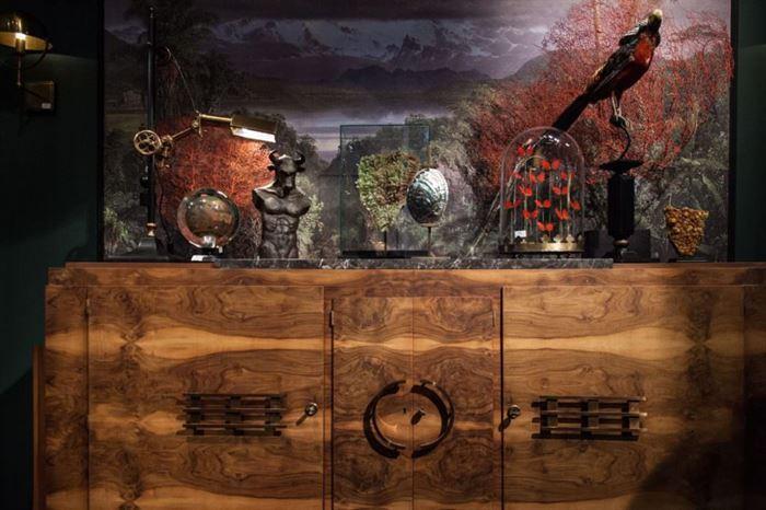 modern salon süsleri ilginç modern dekoratif aksesuar modelleri