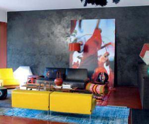 Duvarlarınızda Siyah Renk Kullanımı Ve Süsleme Fikirleri
