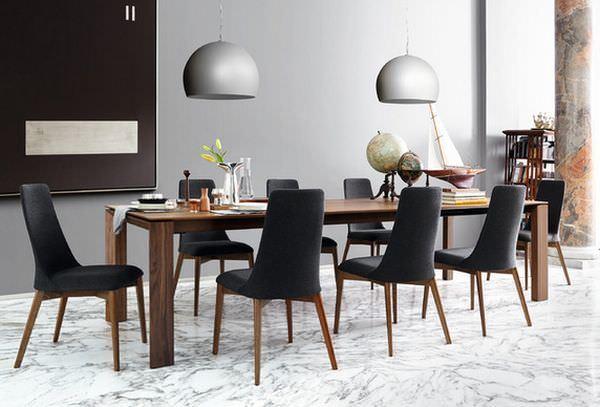 süper Şık Çağdaş ev İçin modern yemek odası tasarımları - modern ev yemek odasi modelleri 7 1