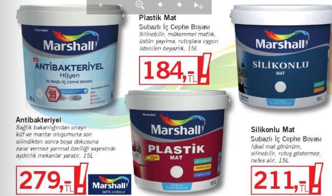 bauhaus 2018 duvar boya fiyatları - bauhause marshal boya fiyatlari 650x385
