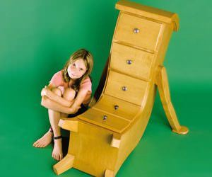 Çocuk Odaları İçin Alışılmışın Dışında Tasarlanan Mobilyalar
