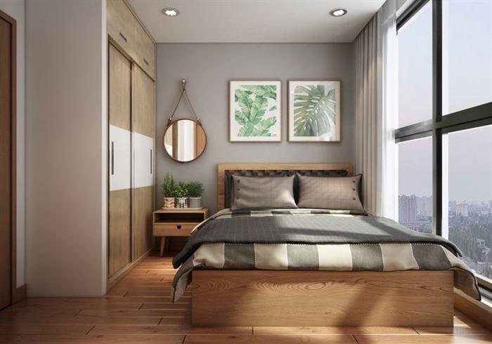 iskandinav-stili-daire-dekorasyonu küçük modern İskandinav stili daire dekorasyonu - iskandinav tarzi yatak odasi dekorasyonu