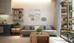 küçük modern İskandinav stili daire dekorasyonu - iskandinav tasarimi daire dekorasyonu 255x150