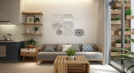küçük modern İskandinav stili daire dekorasyonu - iskandinav tasarimi daire dekorasyonu 274x150