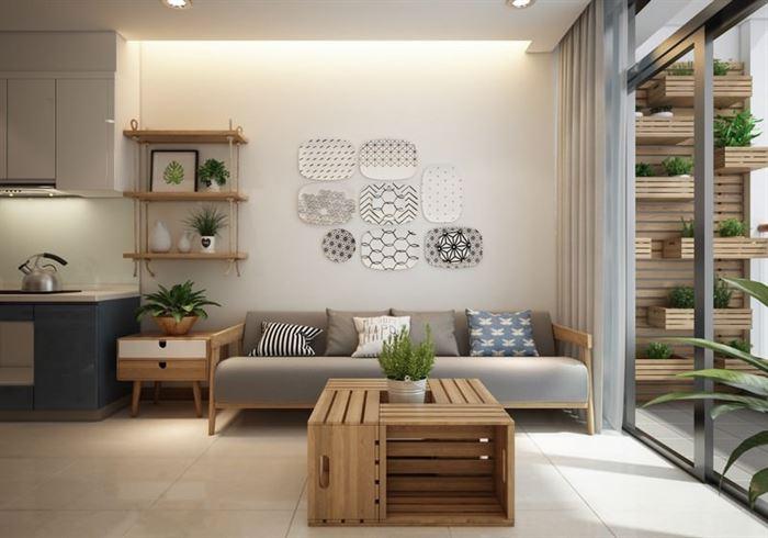 küçük modern İskandinav stili daire dekorasyonu - iskandinav tasarimi daire dekorasyonu