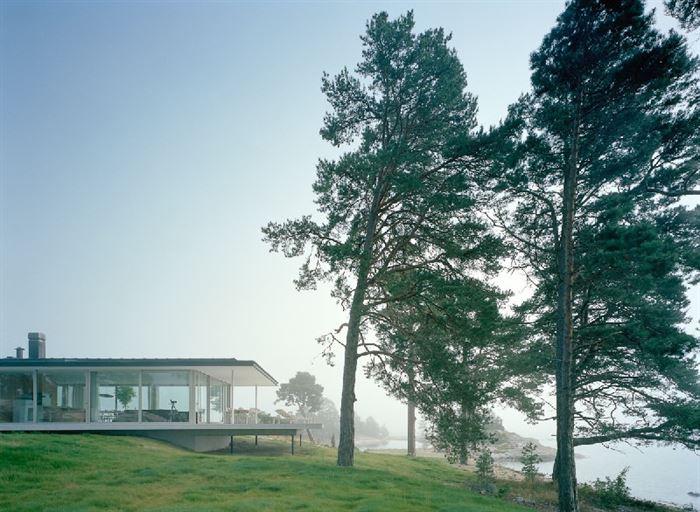 lüks yazlık ev dekorasyonu - ada uzerinde luks ev 1 - Küçük Ada Üzerinde Modern Lüks Ev Tasarımı
