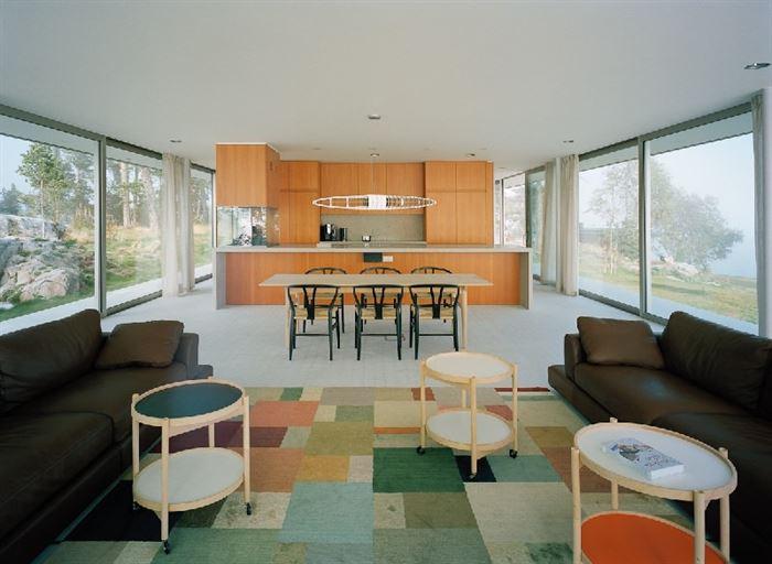 lüks yazlık ev dekorasyonu - ada uzerinde luks ev 10 - Küçük Ada Üzerinde Modern Lüks Ev Tasarımı