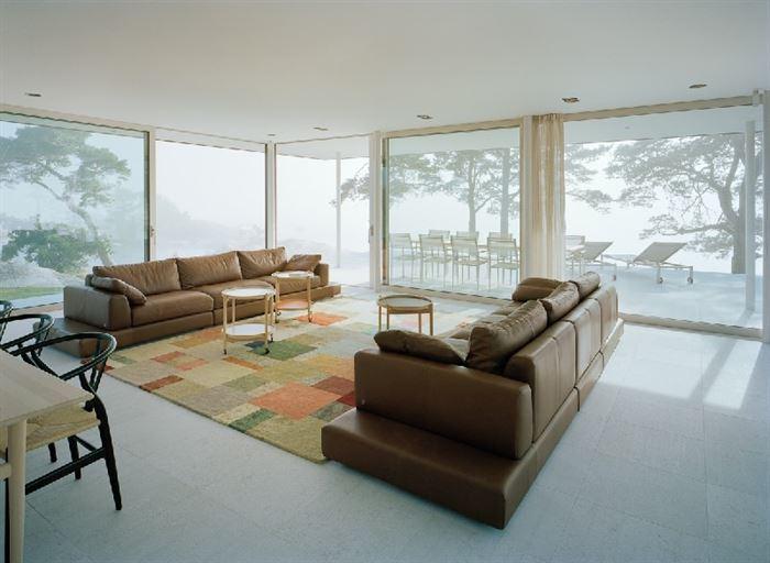 lüks yazlık ev dekorasyonu - ada uzerinde luks ev 11 - Küçük Ada Üzerinde Modern Lüks Ev Tasarımı
