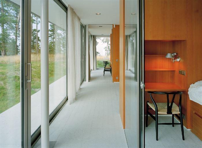lüks yazlık ev dekorasyonu - ada uzerinde luks ev 13 - Küçük Ada Üzerinde Modern Lüks Ev Tasarımı