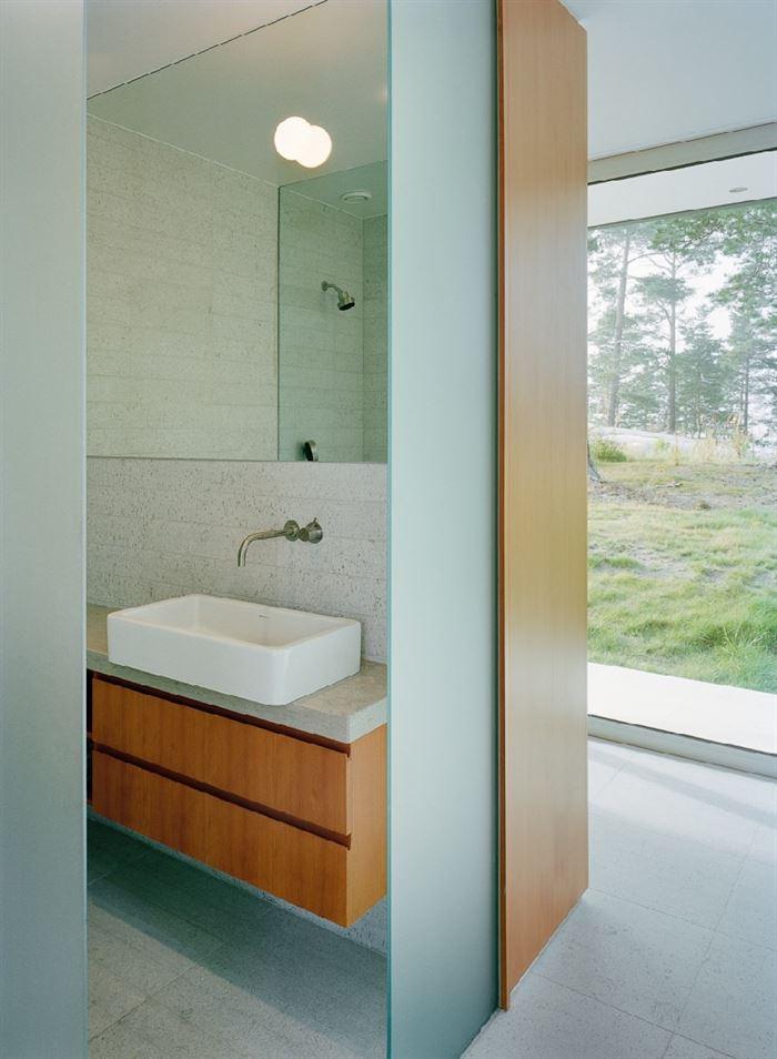lüks yazlık ev dekorasyonu - ada uzerinde luks ev 17 - Küçük Ada Üzerinde Modern Lüks Ev Tasarımı