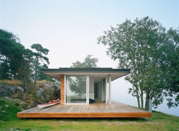 lüks yazlık ev dekorasyonu - ada uzerinde luks ev 18 - Küçük Ada Üzerinde Modern Lüks Ev Tasarımı