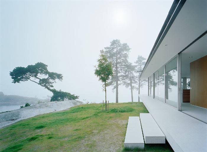 lüks yazlık ev dekorasyonu - ada uzerinde luks ev 2 - Küçük Ada Üzerinde Modern Lüks Ev Tasarımı