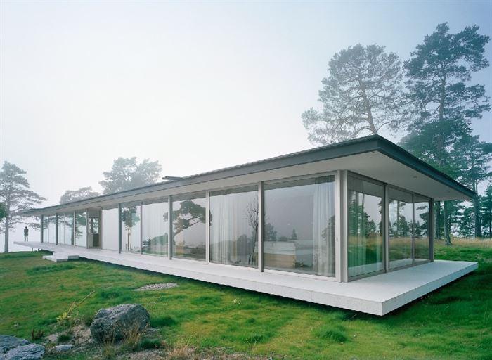 lüks yazlık ev dekorasyonu - ada uzerinde luks ev 3 - Küçük Ada Üzerinde Modern Lüks Ev Tasarımı
