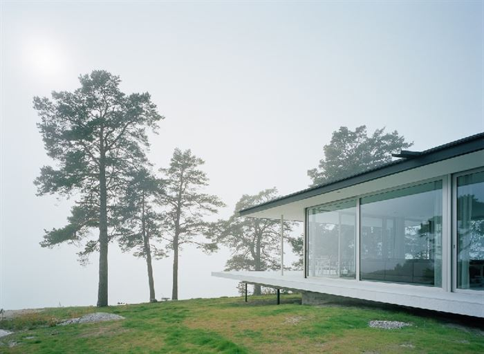lüks yazlık ev dekorasyonu - ada uzerinde luks ev 4 - Küçük Ada Üzerinde Modern Lüks Ev Tasarımı