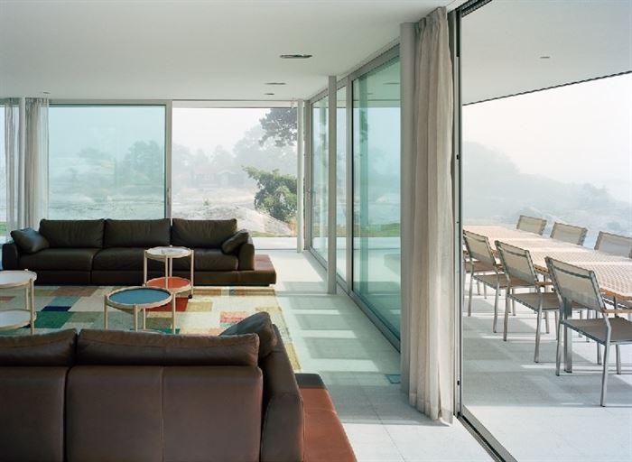 lüks yazlık ev dekorasyonu - ada uzerinde luks ev 5 - Küçük Ada Üzerinde Modern Lüks Ev Tasarımı