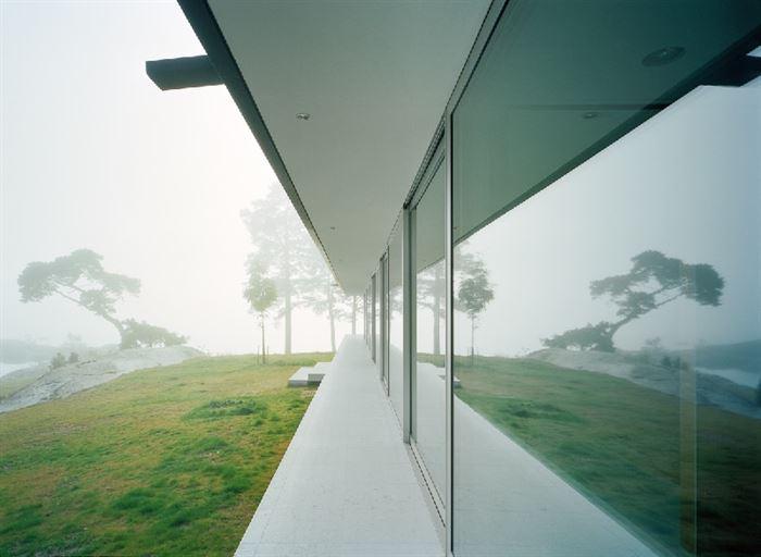 lüks yazlık ev dekorasyonu - ada uzerinde luks ev 6 - Küçük Ada Üzerinde Modern Lüks Ev Tasarımı