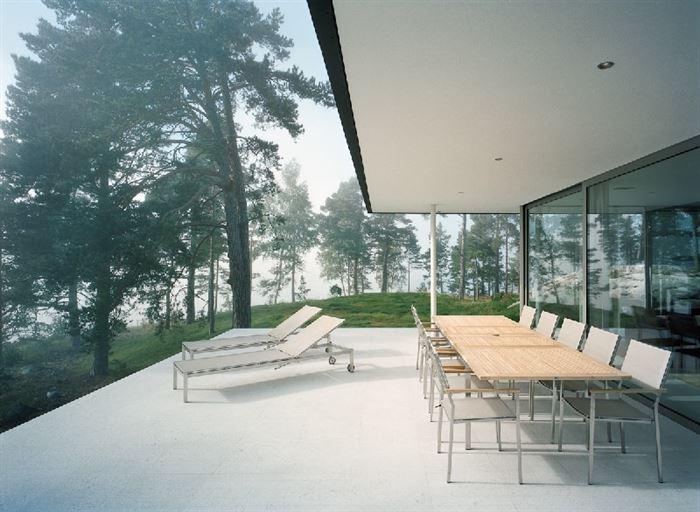 lüks yazlık ev dekorasyonu - ada uzerinde luks ev 7 - Küçük Ada Üzerinde Modern Lüks Ev Tasarımı
