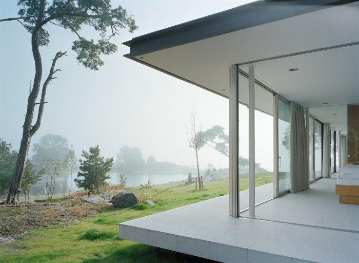 lüks yazlık ev dekorasyonu - ada uzerinde luks ev 9 - Küçük Ada Üzerinde Modern Lüks Ev Tasarımı