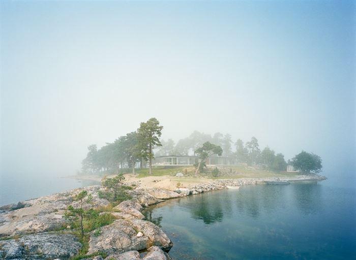 Küçük Ada Üzerinde Modern Lüks Ev Tasarımı 1