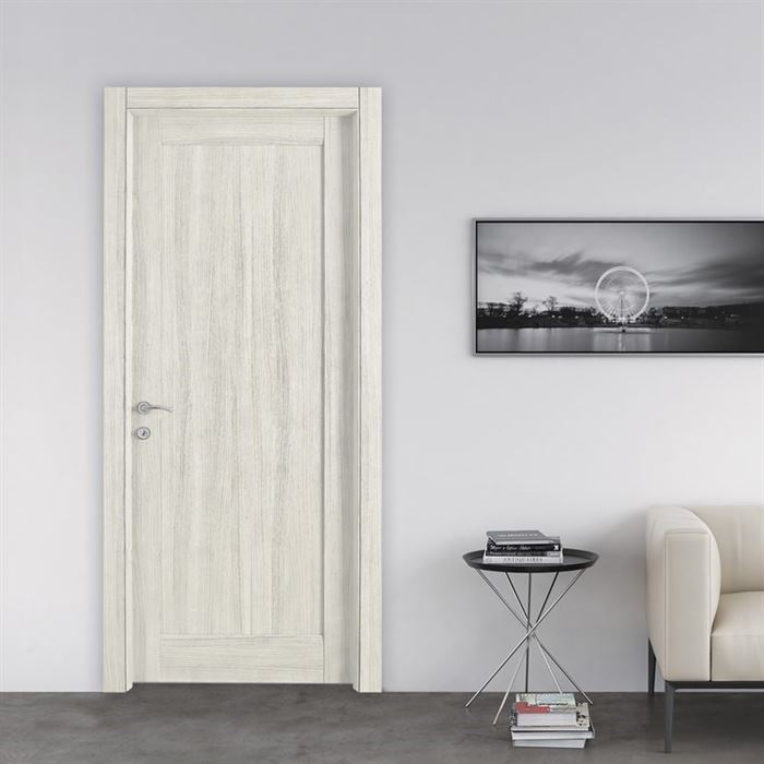 amerikan kapı modelleri - krem amerikan panel kapi - Dekoratif Yeni Tasarım Amerikan Kapı Modelleri