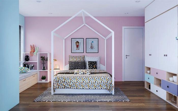 Pembe Renk Genç Odası Dekorasyonları pembe kiz cocuk odasi dekorasyon fikirleri 11