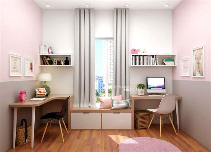 Pembe Renk Genç Odası Dekorasyonları pembe kiz cocuk odasi dekorasyon fikirleri 18