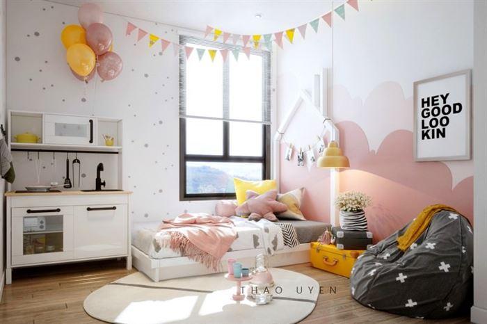 Pembe Renk Genç Odası Dekorasyonları pembe kiz cocuk odasi dekorasyon fikirleri 19