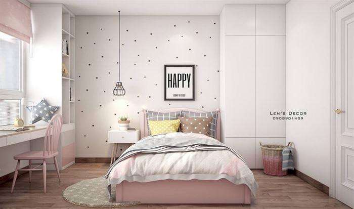 Pembe Renk Genç Odası Dekorasyonları pembe kiz cocuk odasi dekorasyon fikirleri 2