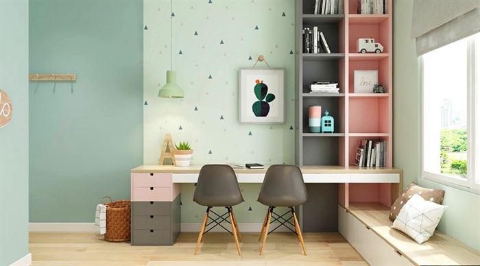 Pembe Renk Genç Odası Dekorasyonları pembe kiz cocuk odasi dekorasyon fikirleri 21