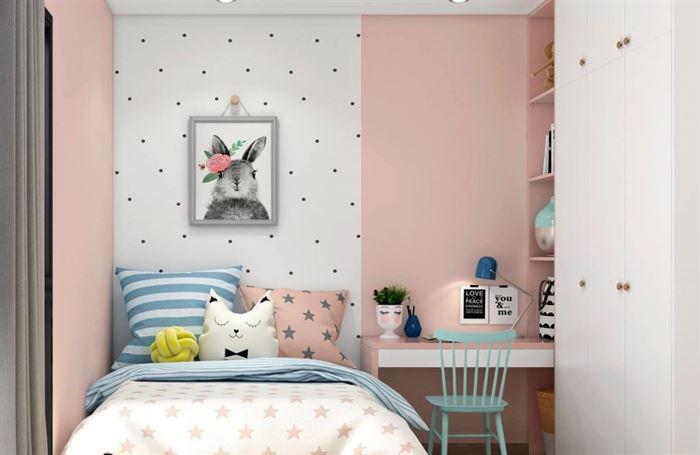 Pembe Renk Genç Odası Dekorasyonları pembe kiz cocuk odasi dekorasyon fikirleri 4 1024x666
