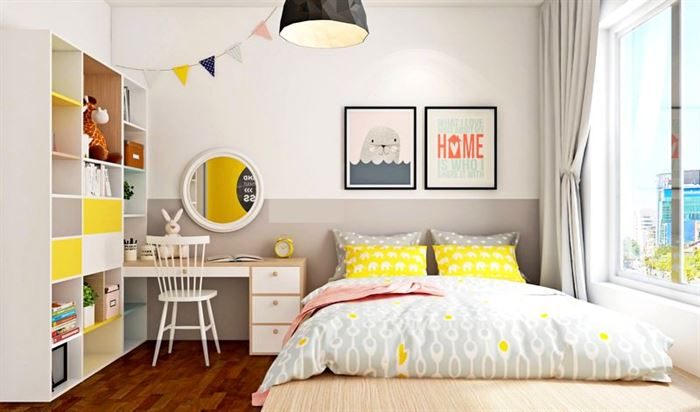 Pembe Renk Genç Odası Dekorasyonları pembe kiz cocuk odasi dekorasyon fikirleri 6