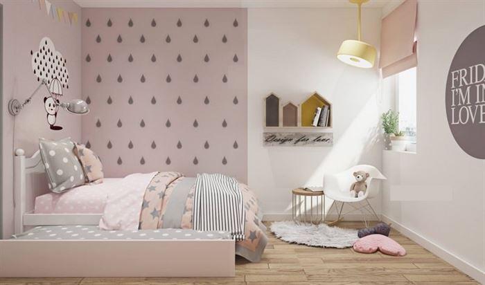 Pembe Renk Genç Odası Dekorasyonları pembe kiz cocuk odasi dekorasyon fikirleri 8