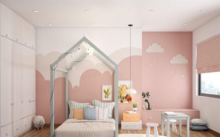 Pembe Renk Genç Odası Dekorasyonları pembe kiz cocuk odasi dekorasyon fikirleri