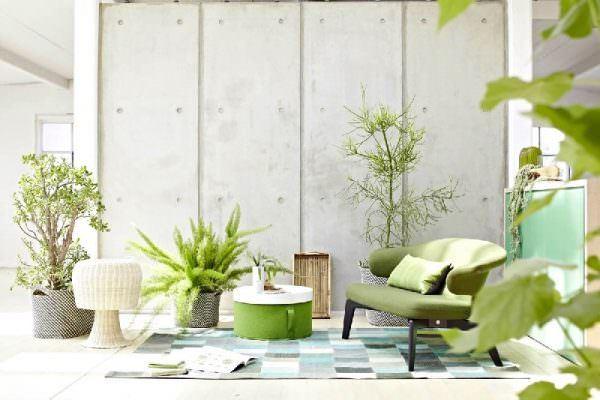 yesil-renkli-oturma-odasi-dekorasyon-fikirleri