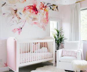 Bebek Odası Duvar Kağıt Modelleri