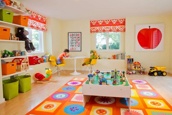 Harika Tasarımlı Çocuk Oyun Odası Fikirleri 6