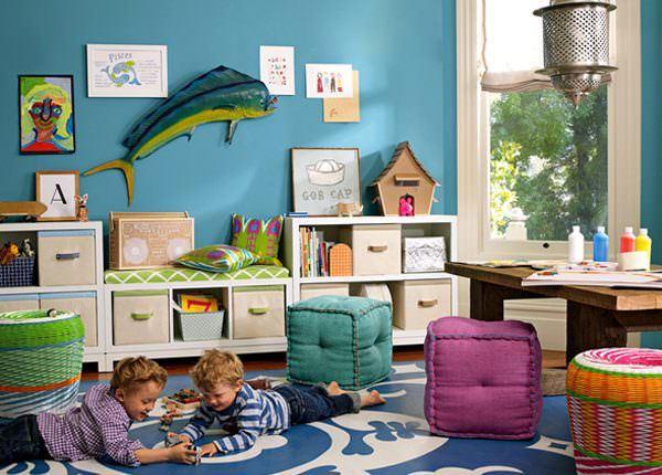 harika tasarımlı Çocuk oyun odası fikirleri - cocuk oyun odasi dekorasyon fikirleri 4 600x430