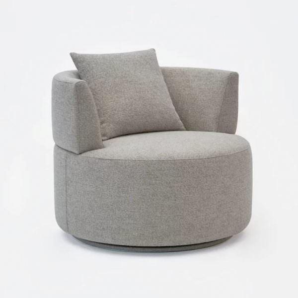 oval tekli tv seyretme koltuğu