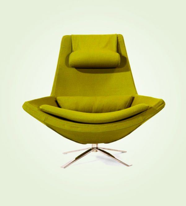 sarı tekli dekoratif koltuk