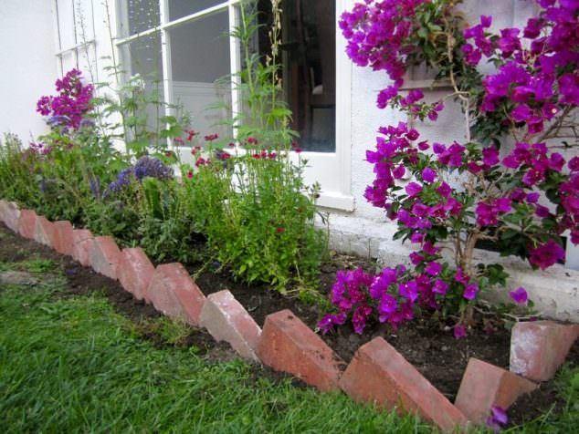 Tuğlalar ile Bahçe Süsleme Fikirleri tuğlalar ile bahçe süsleme fikirleri - tuglalar ile dekoratif bahce susleme fikirleri 10