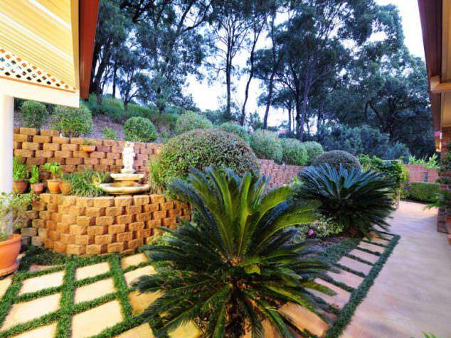 Tuğlalar ile Bahçe Süsleme Fikirleri tuğlalar ile bahçe süsleme fikirleri - tuglalar ile dekoratif bahce susleme fikirleri 2