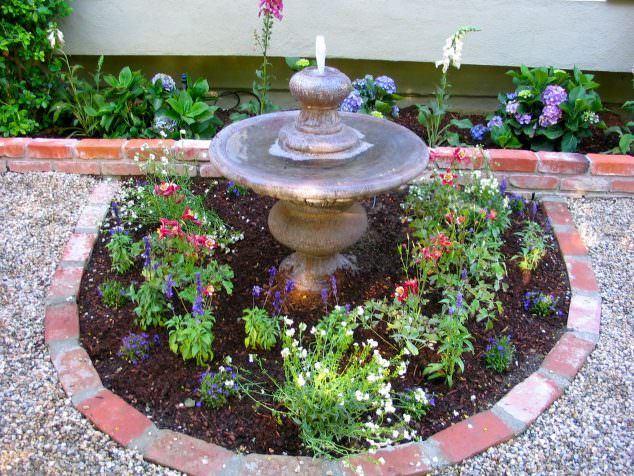 Tuğlalar ile Bahçe Süsleme Fikirleri tuğlalar ile bahçe süsleme fikirleri - tuglalar ile dekoratif bahce susleme fikirleri 3
