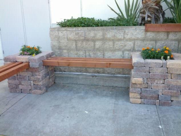 Tuğlalar ile Bahçe Süsleme Fikirleri tuğlalar ile bahçe süsleme fikirleri - tuglalar ile dekoratif bahce susleme fikirleri 4